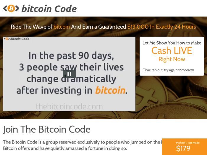 Bitcoin Code Cara bermain Bitcoin Code?