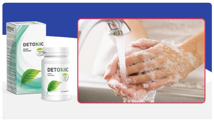 Detoxic Arahan untuk menggunakan Detoxic